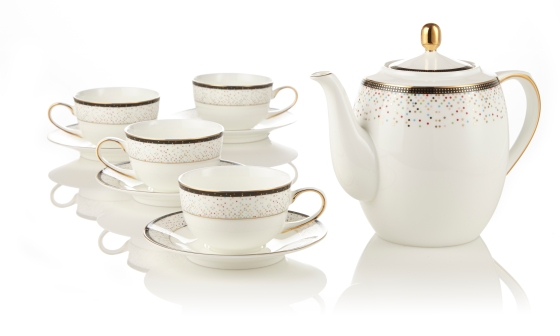 Teavana Confetti 9-Piece Tea Set