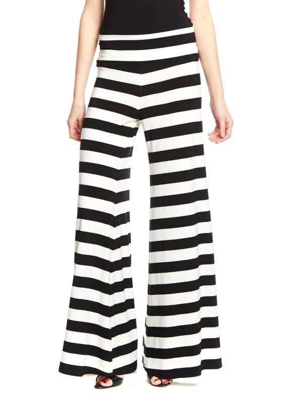 KamaliKulture Wide Leg Striped Pants - $39.99